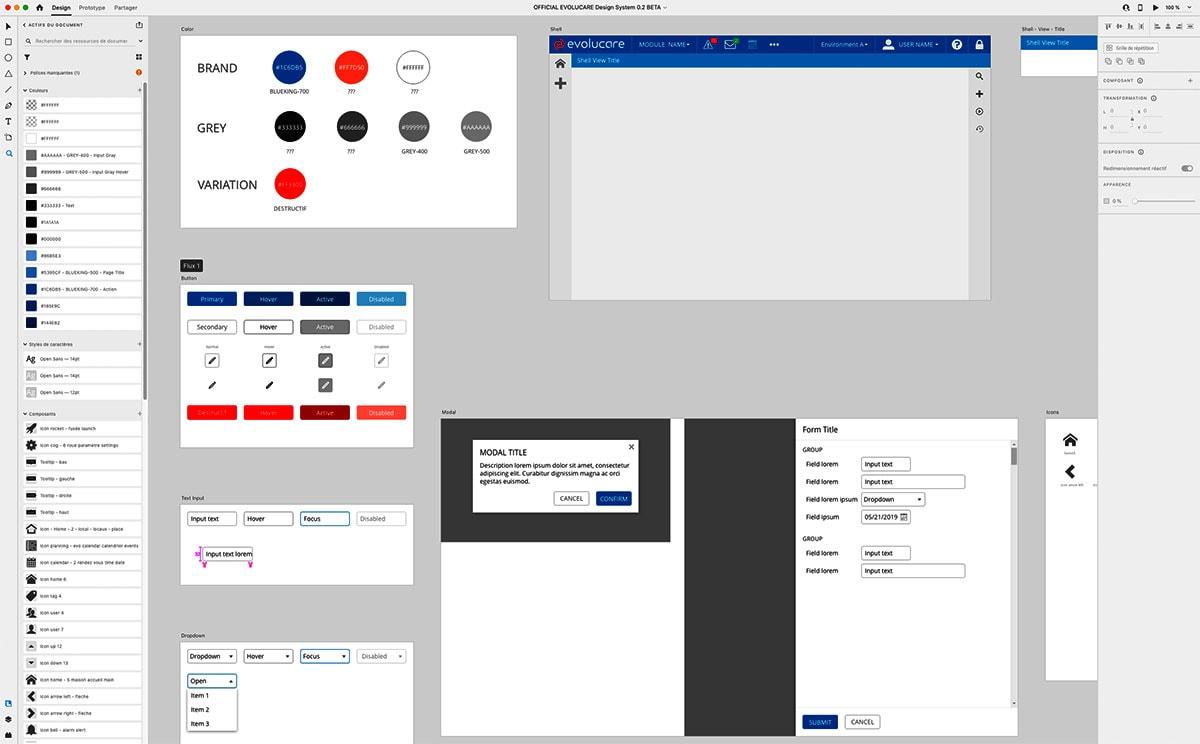 Design UX Adobe XD Lyon