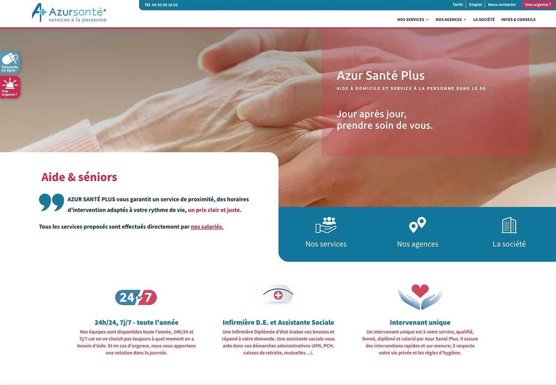 Services à domicile - site web